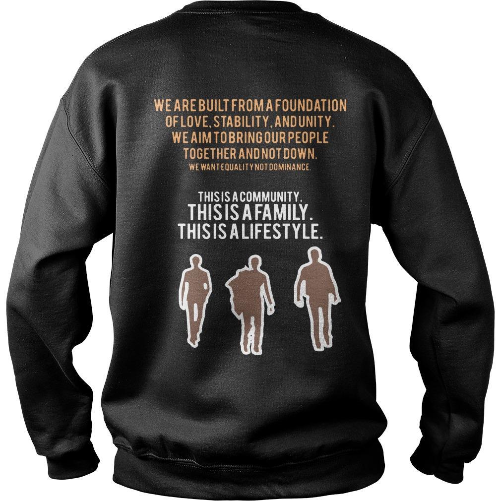 Black Men United Texas State University Sweater