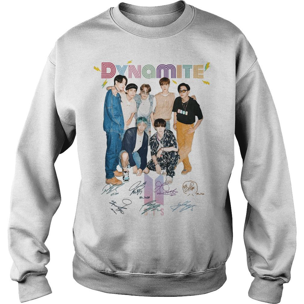 Bts Signature Dynamite Sweater