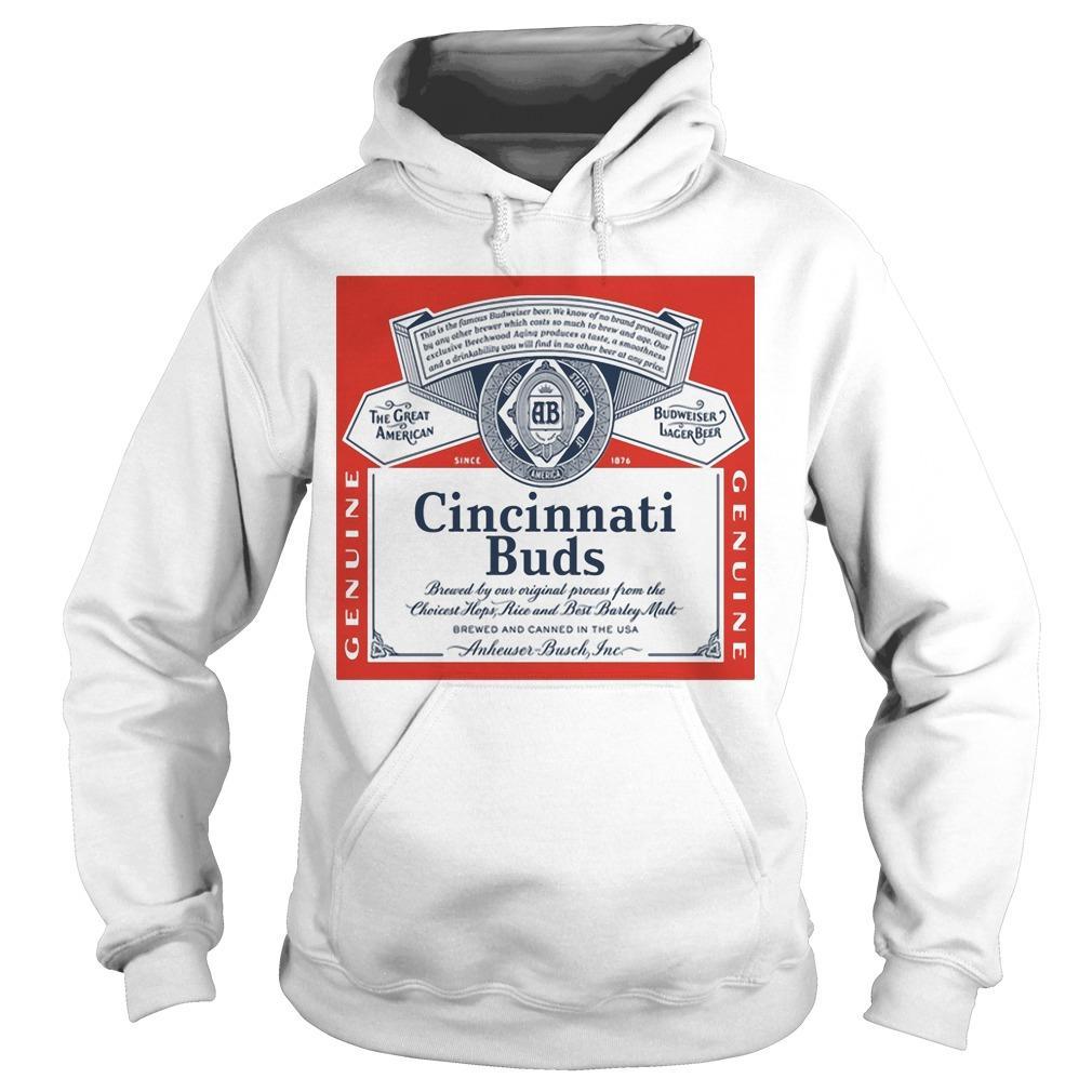 Budweiser Cincinnati Buds Hoodie