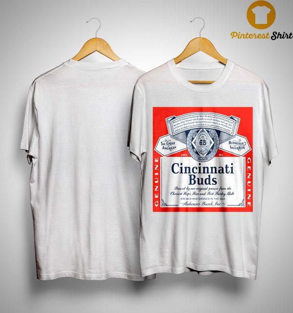Budweiser Cincinnati Buds Shirt