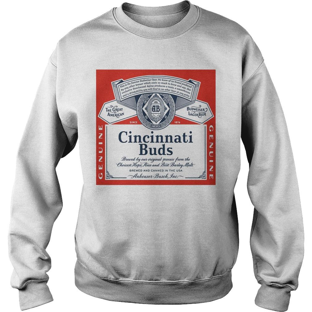 Budweiser Cincinnati Buds Sweater