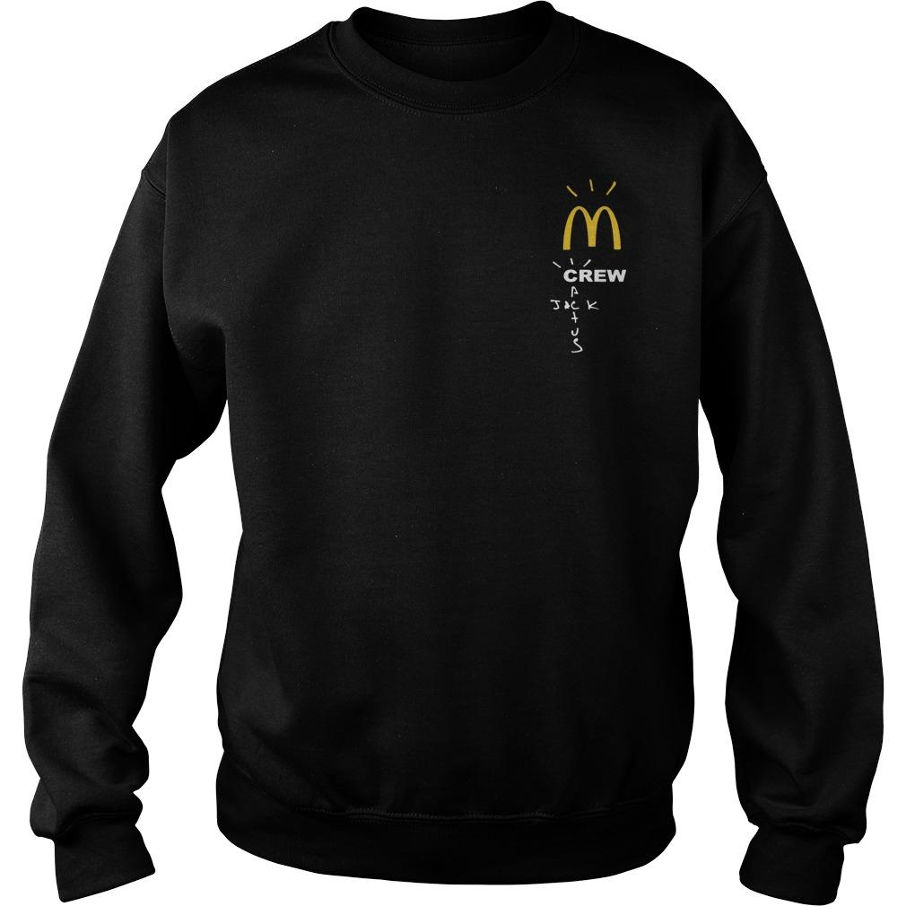 Cactus Jack Mcdonalds Sweater