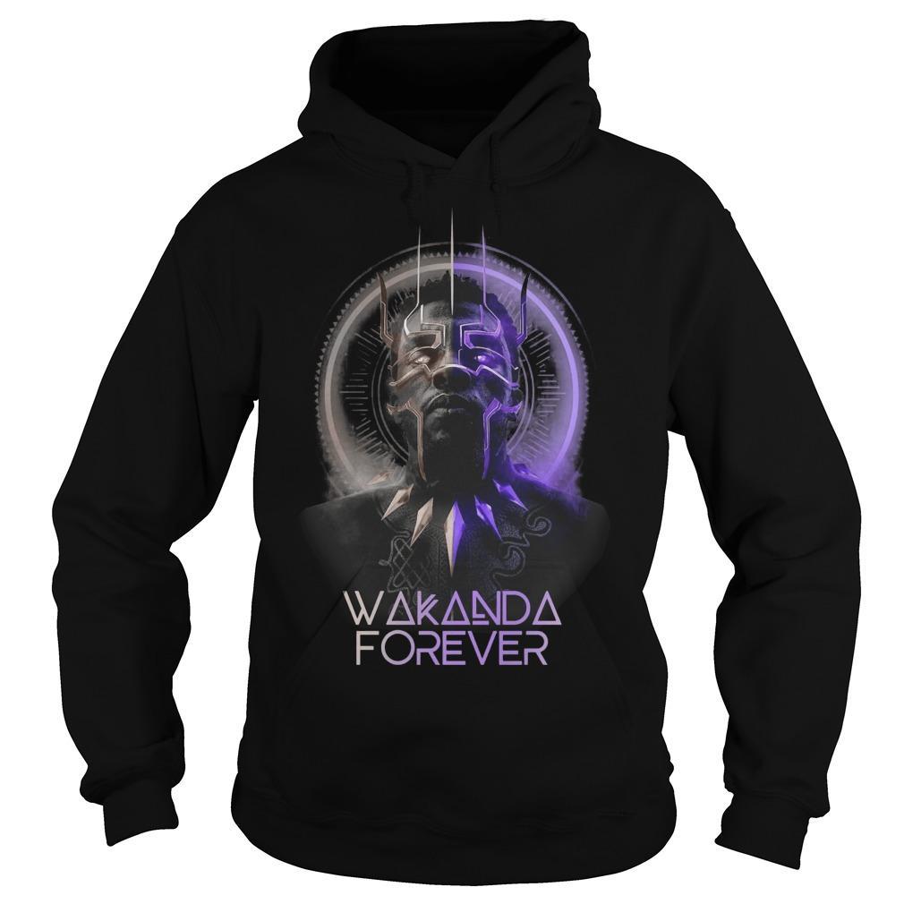 Chadwick Boseman Black Panther Wakanda Forever Hoodie