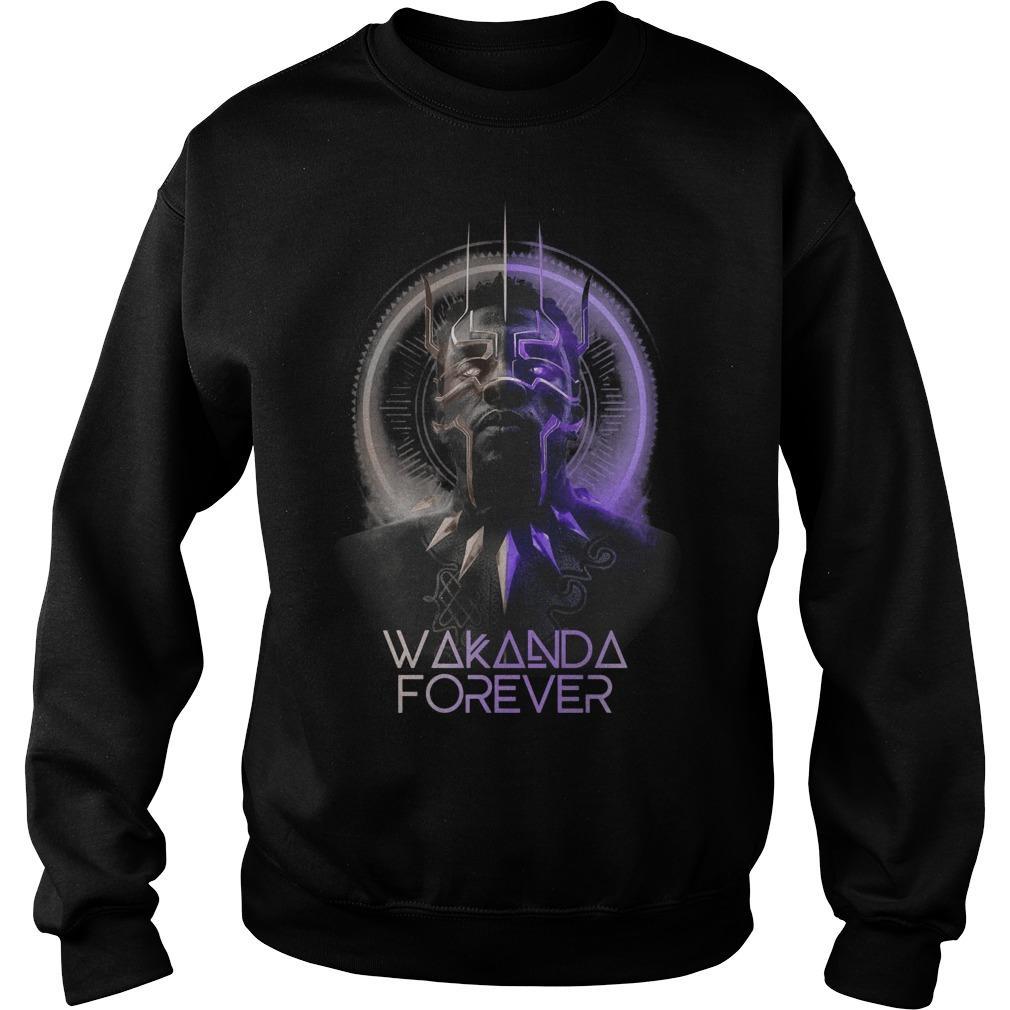 Chadwick Boseman Black Panther Wakanda Forever Sweater