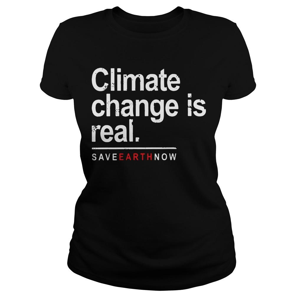 Climate Change Is Real Longsleeve