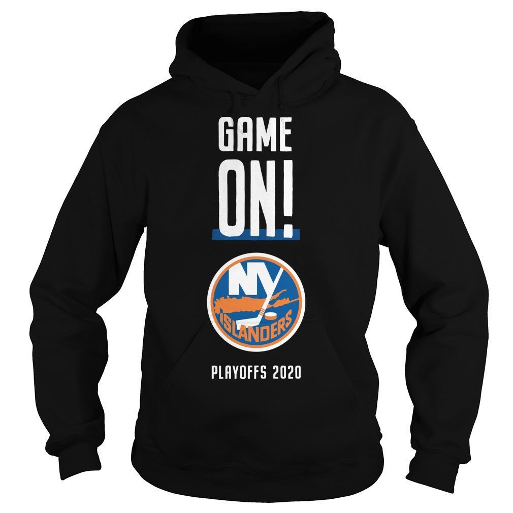 Game On New York Islanders Playoffs 2020 Hoodie