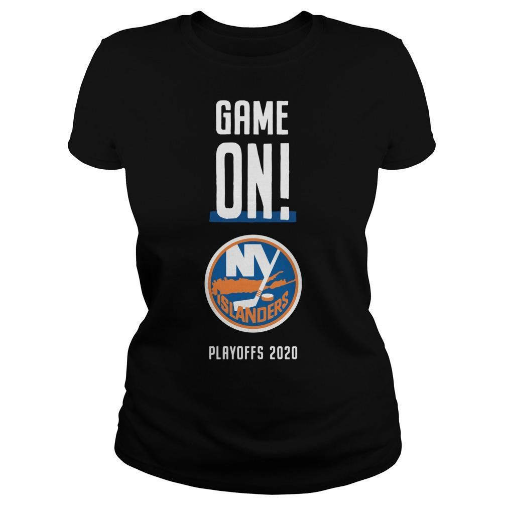 Game On New York Islanders Playoffs 2020 Longsleeve