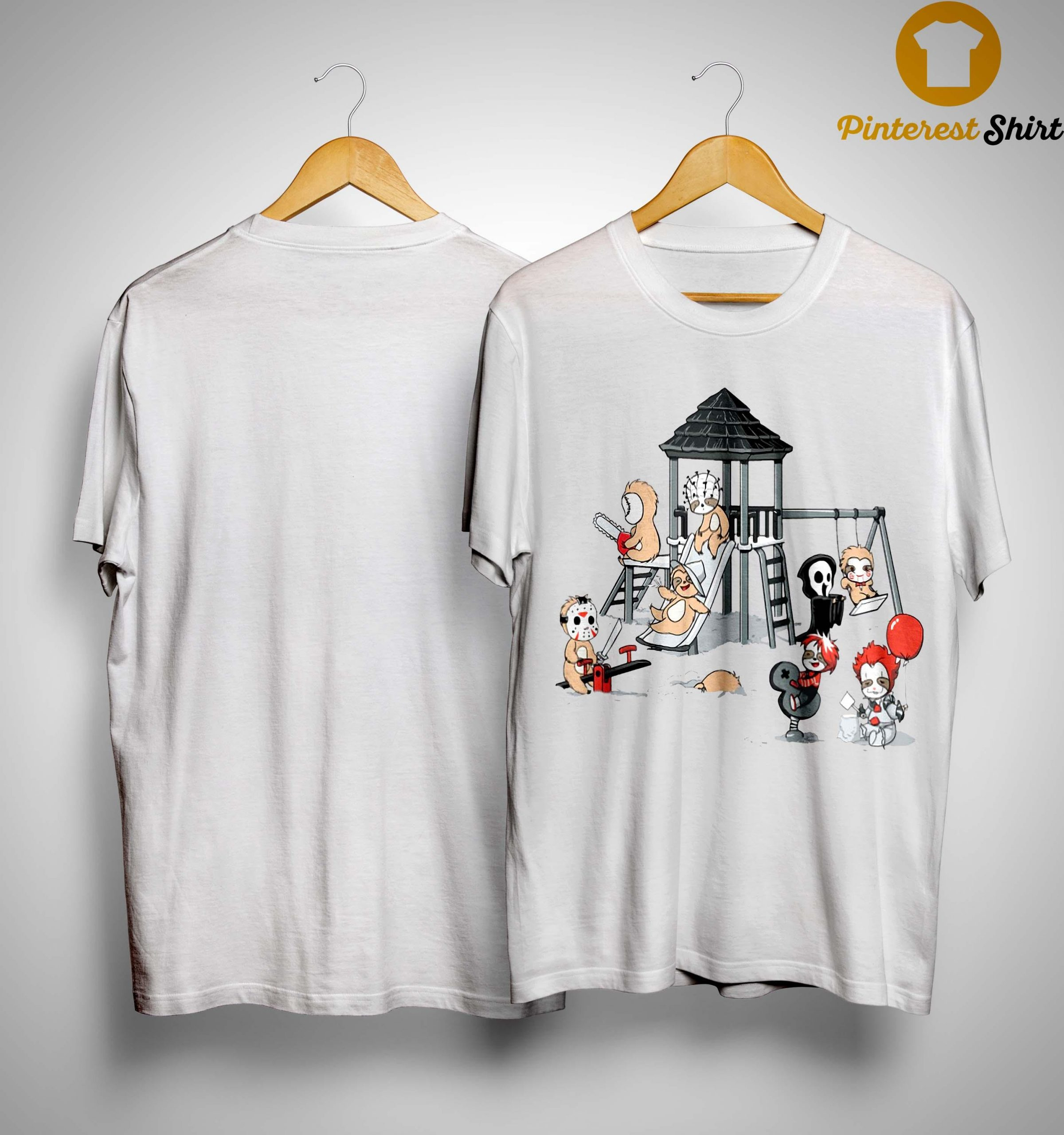 Halloween Horror Character Playing Area Shirt