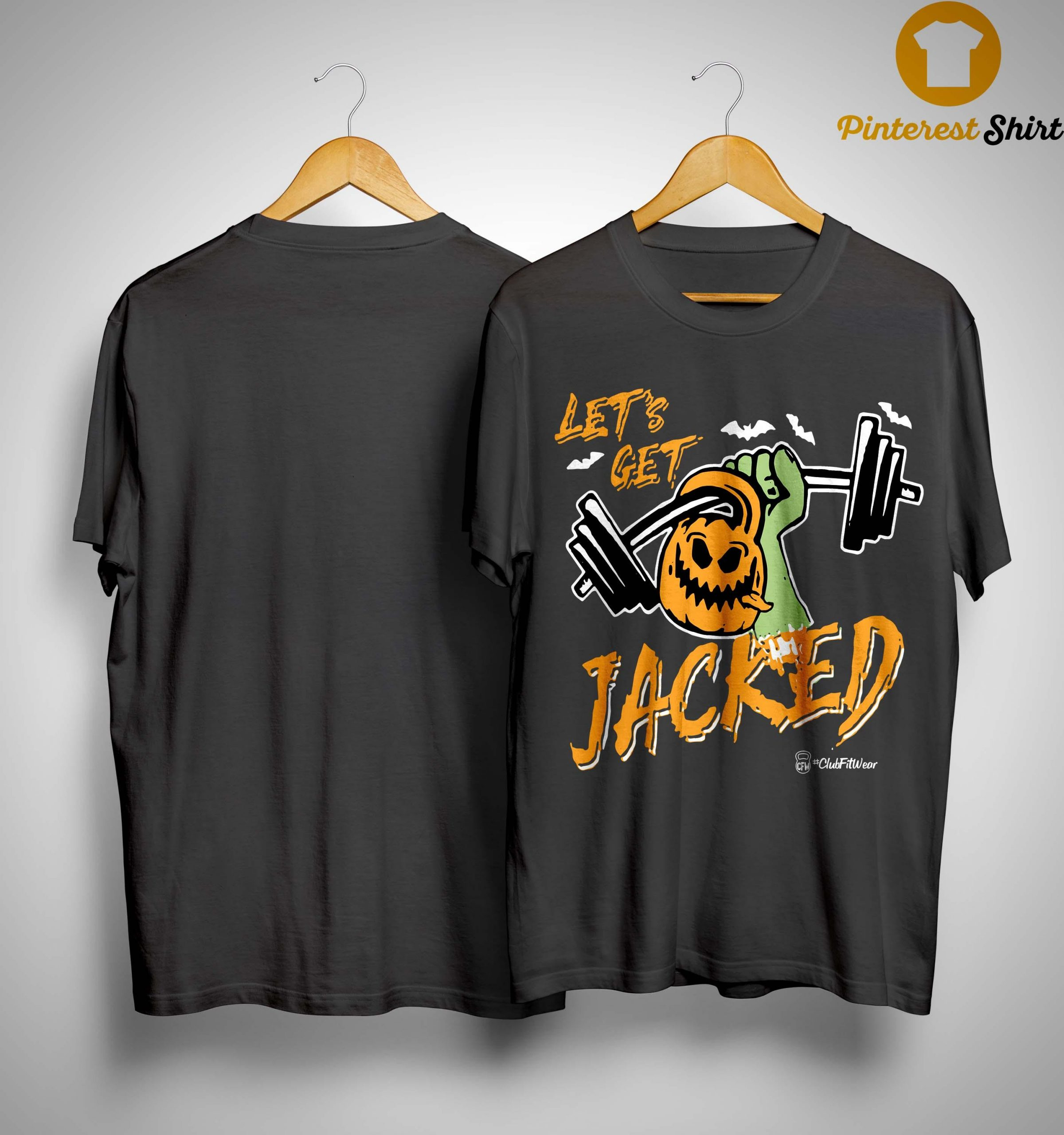 Halloween Let's Get Jacked Shirt