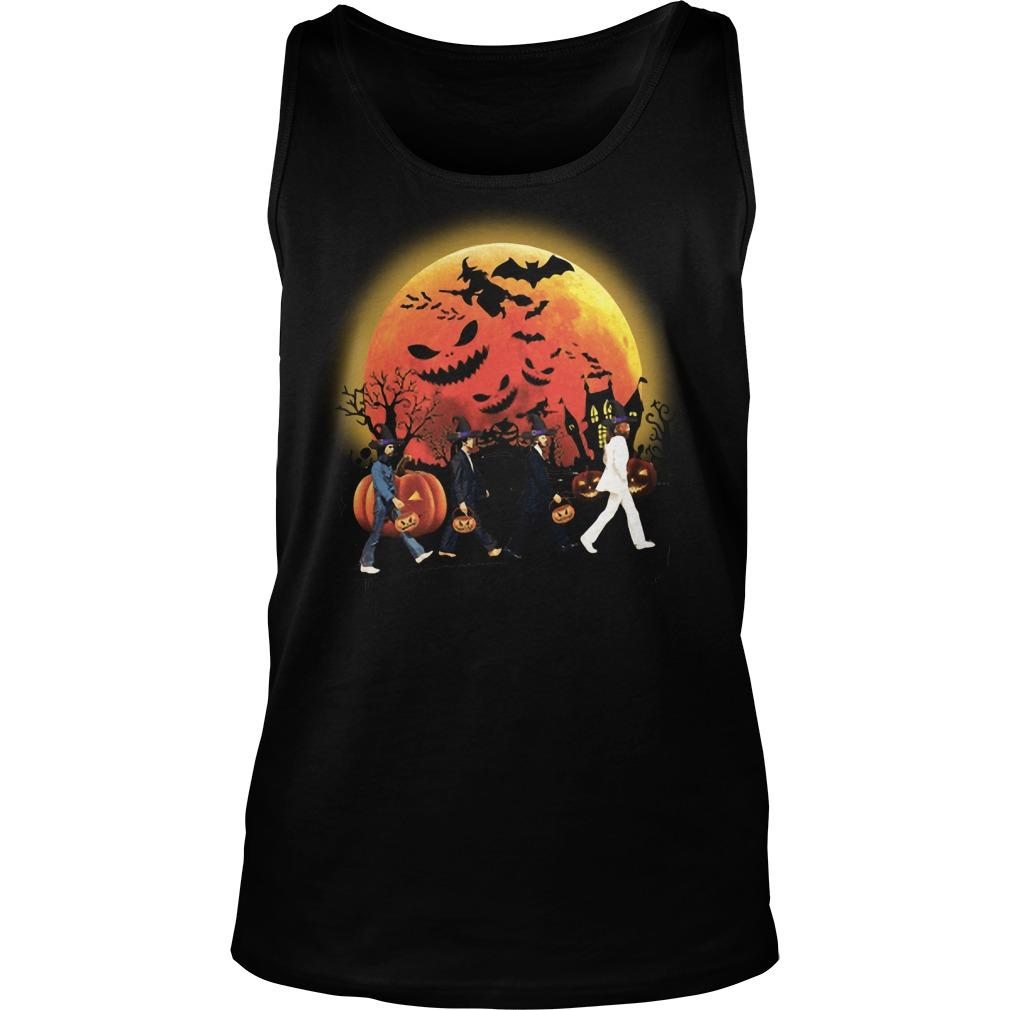Halloween The Beatles Tank Top