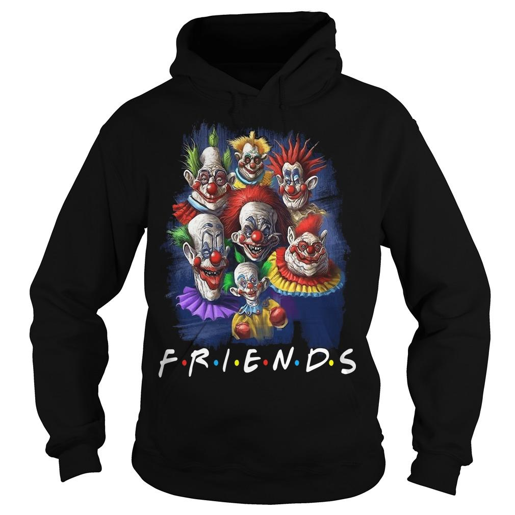 Horror Character Friends Halloween Hoodie