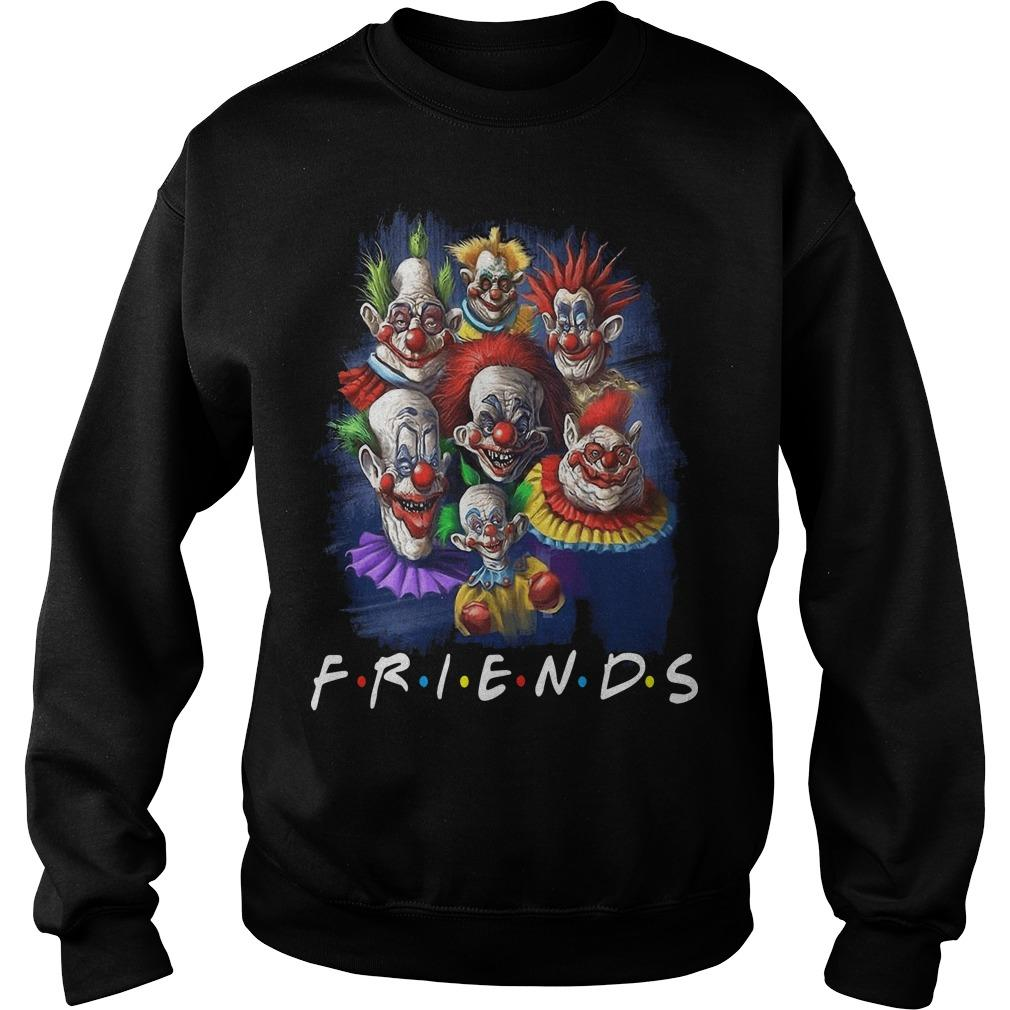Horror Character Friends Halloween Sweater