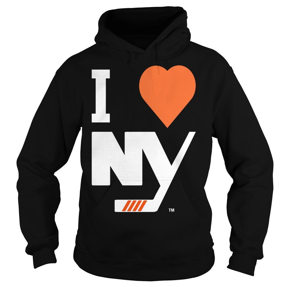 I Love New York Islanders Hoodie