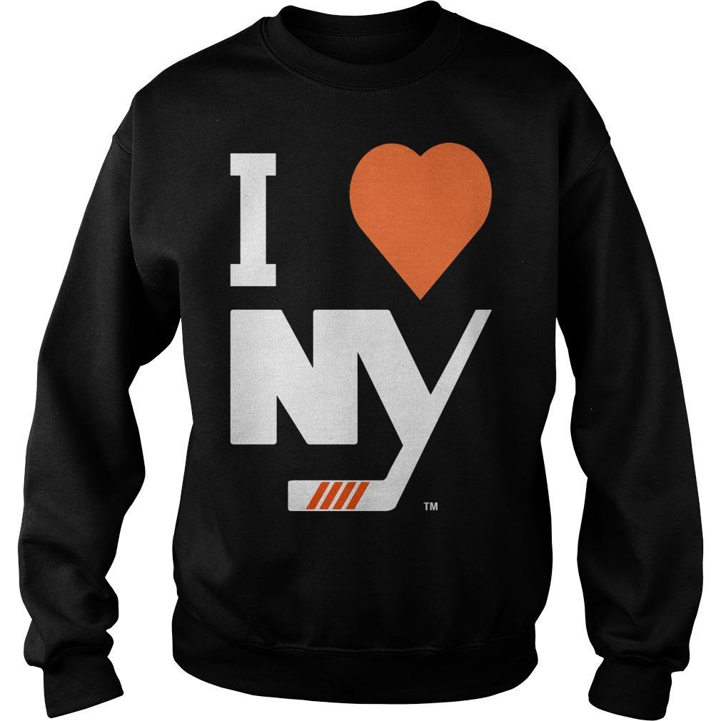 I Love New York Islanders Sweater