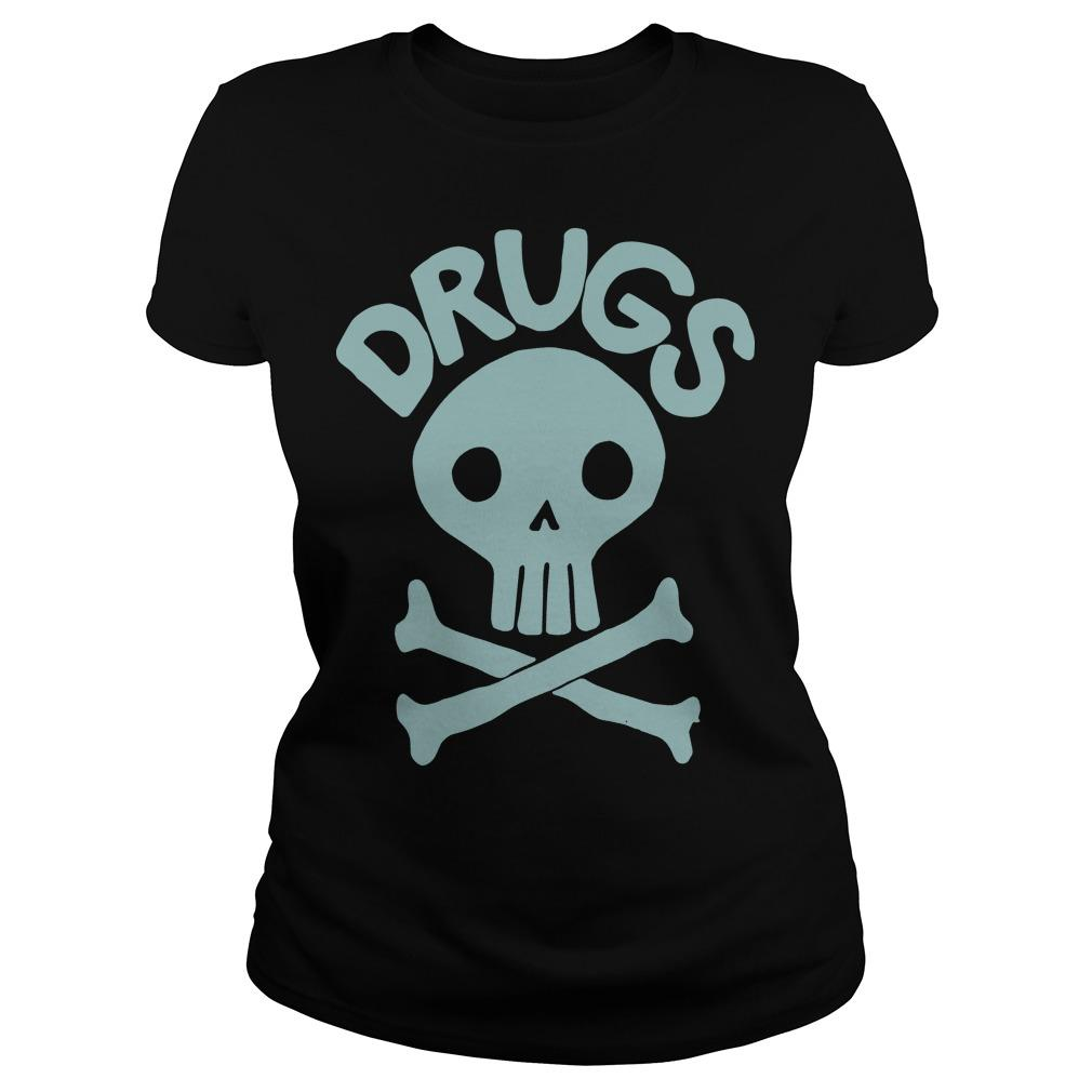 Jack Chick Skull Drugs Longsleeve