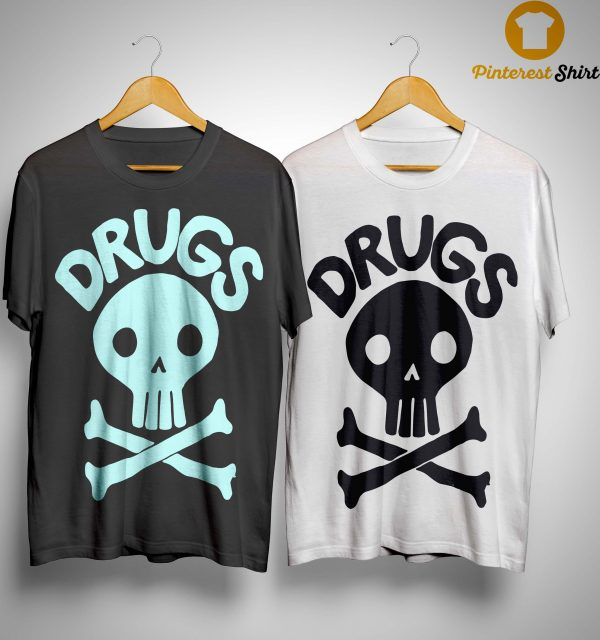 Jack Chick Skull Drugs Shirt