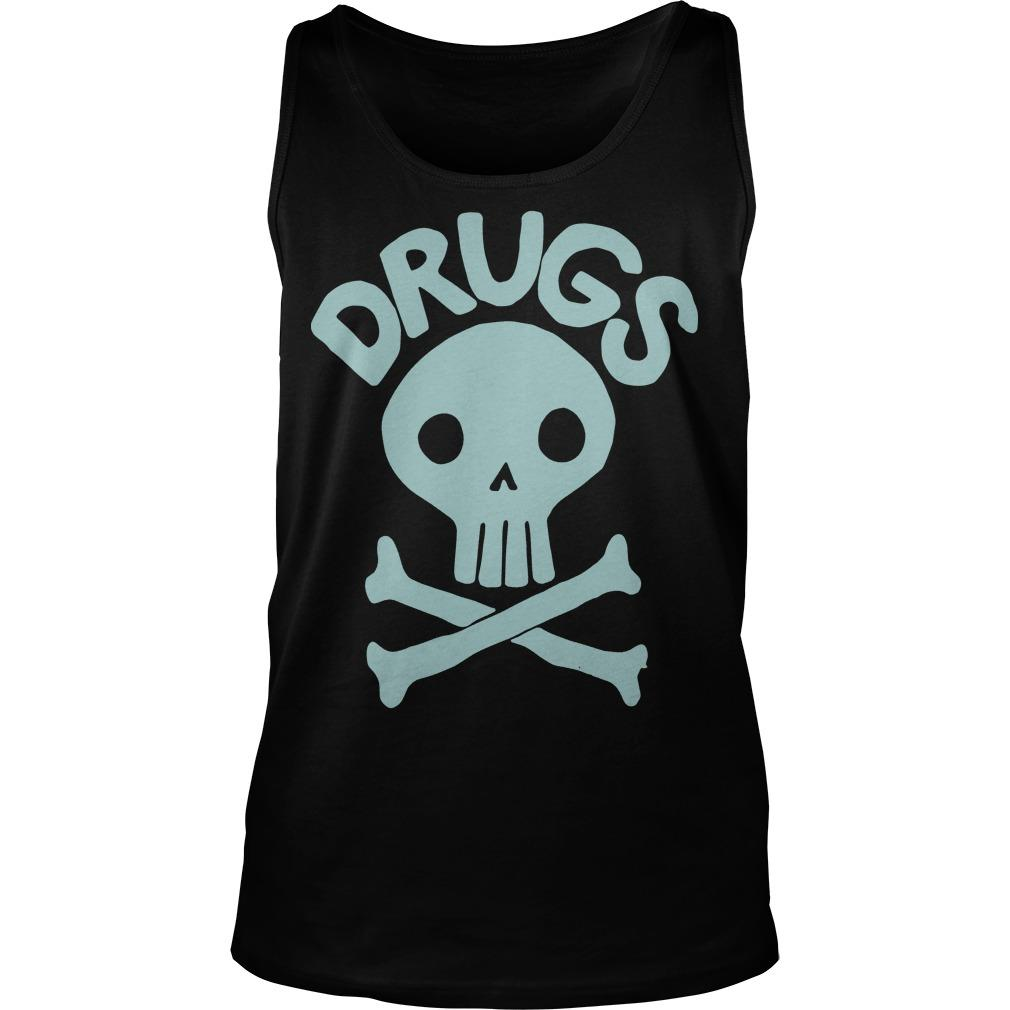 Jack Chick Skull Drugs Tank Top