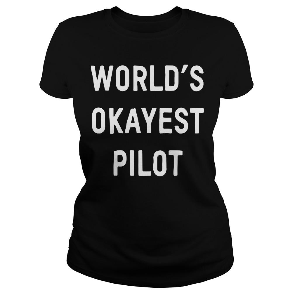 Jim OShaughnessy World's Okayest Pilot Longsleeve
