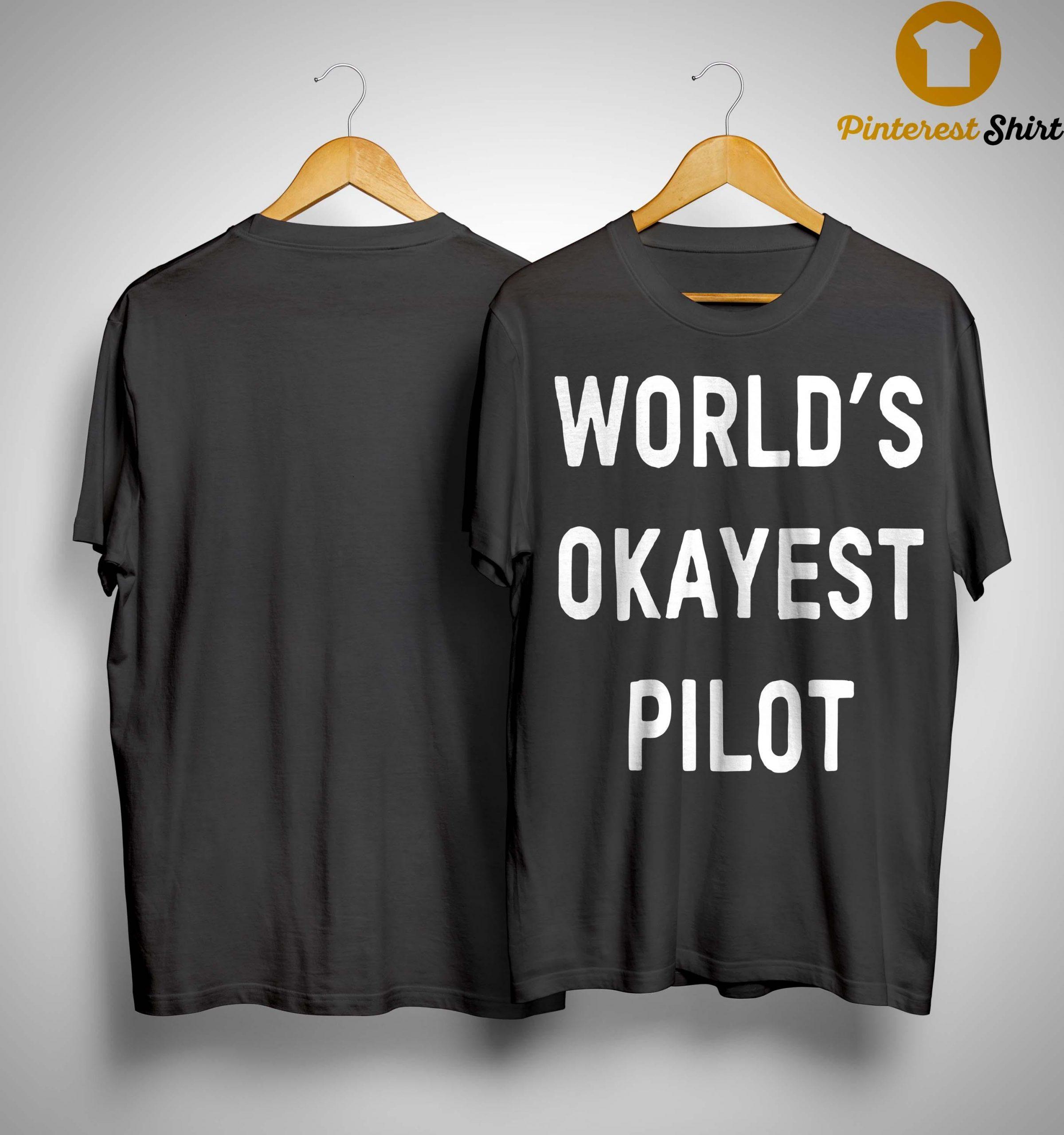 Jim OShaughnessy World's Okayest Pilot Shirt