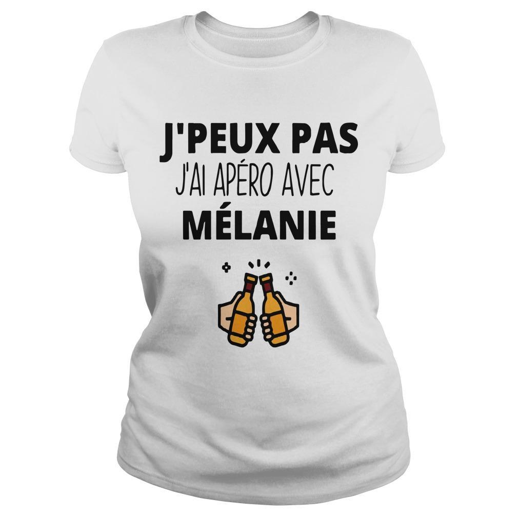 J'peux Pas J'ai Apéro Avec Mélanie Longsleeve