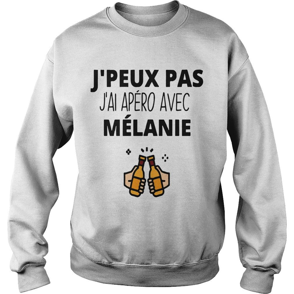 J'peux Pas J'ai Apéro Avec Mélanie Sweater