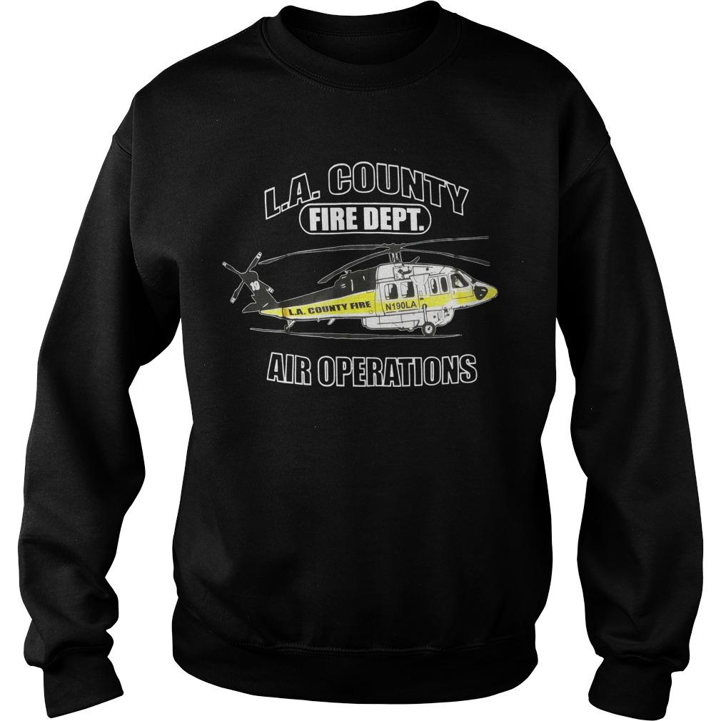 La County Fire Dept Air Operations Sweater