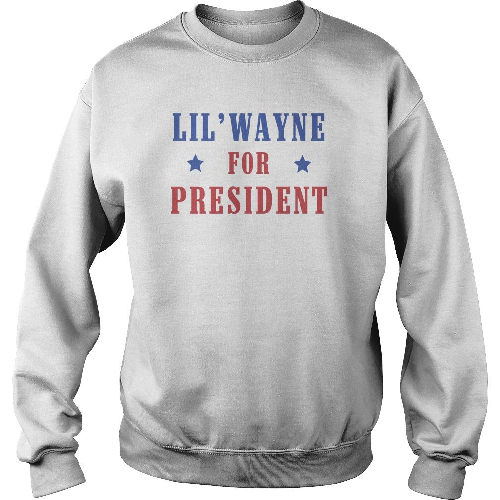 Lil Wayne For President Sweater