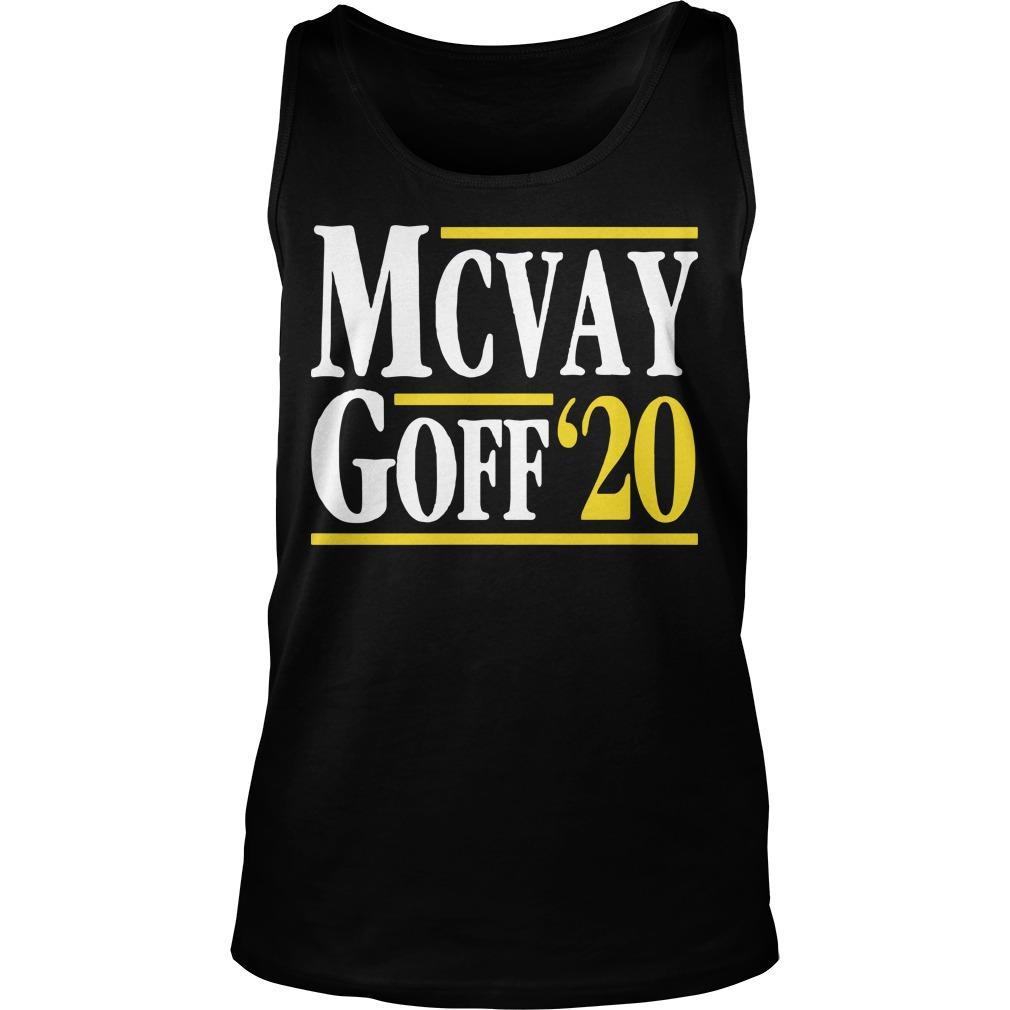 McVay Goff '20 Tank Top