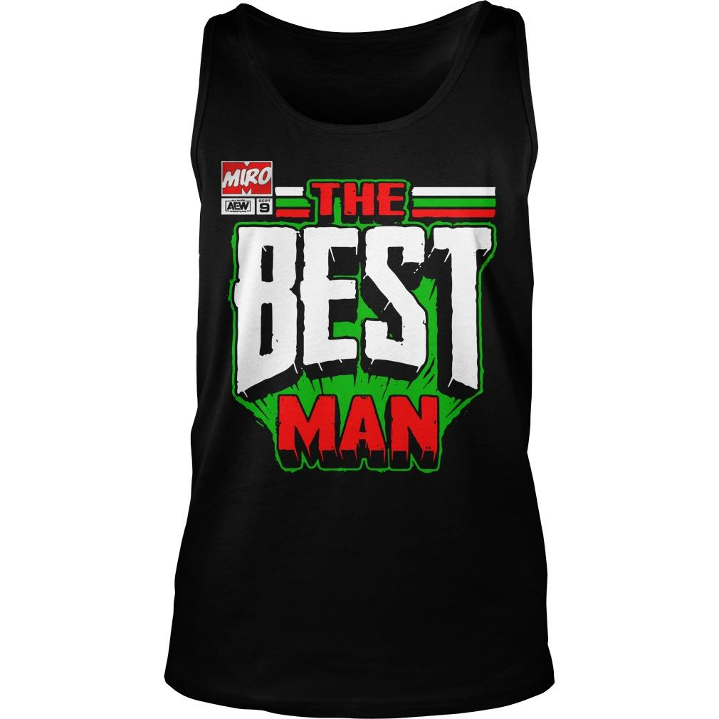 Miro The Best Man Tank Top