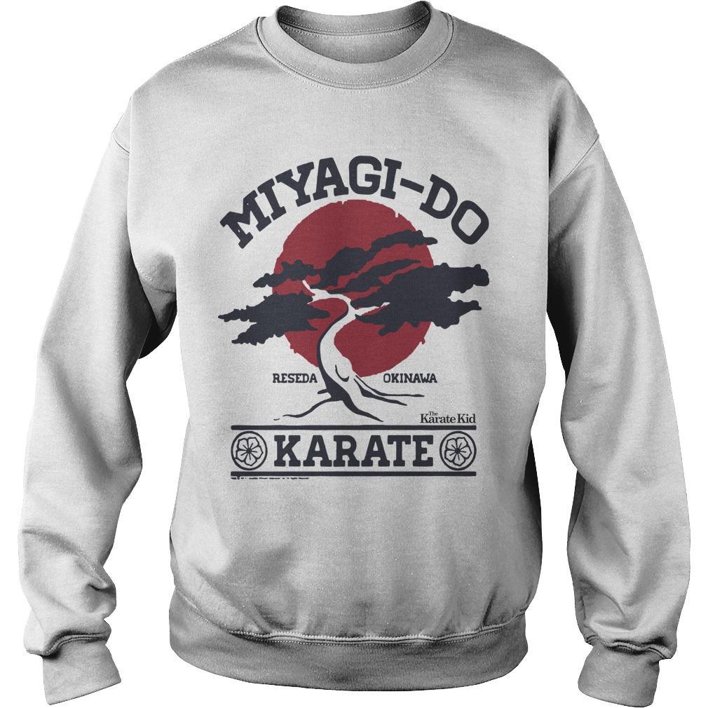 Miyagi Do Reseda Okinawa Karate Sweater