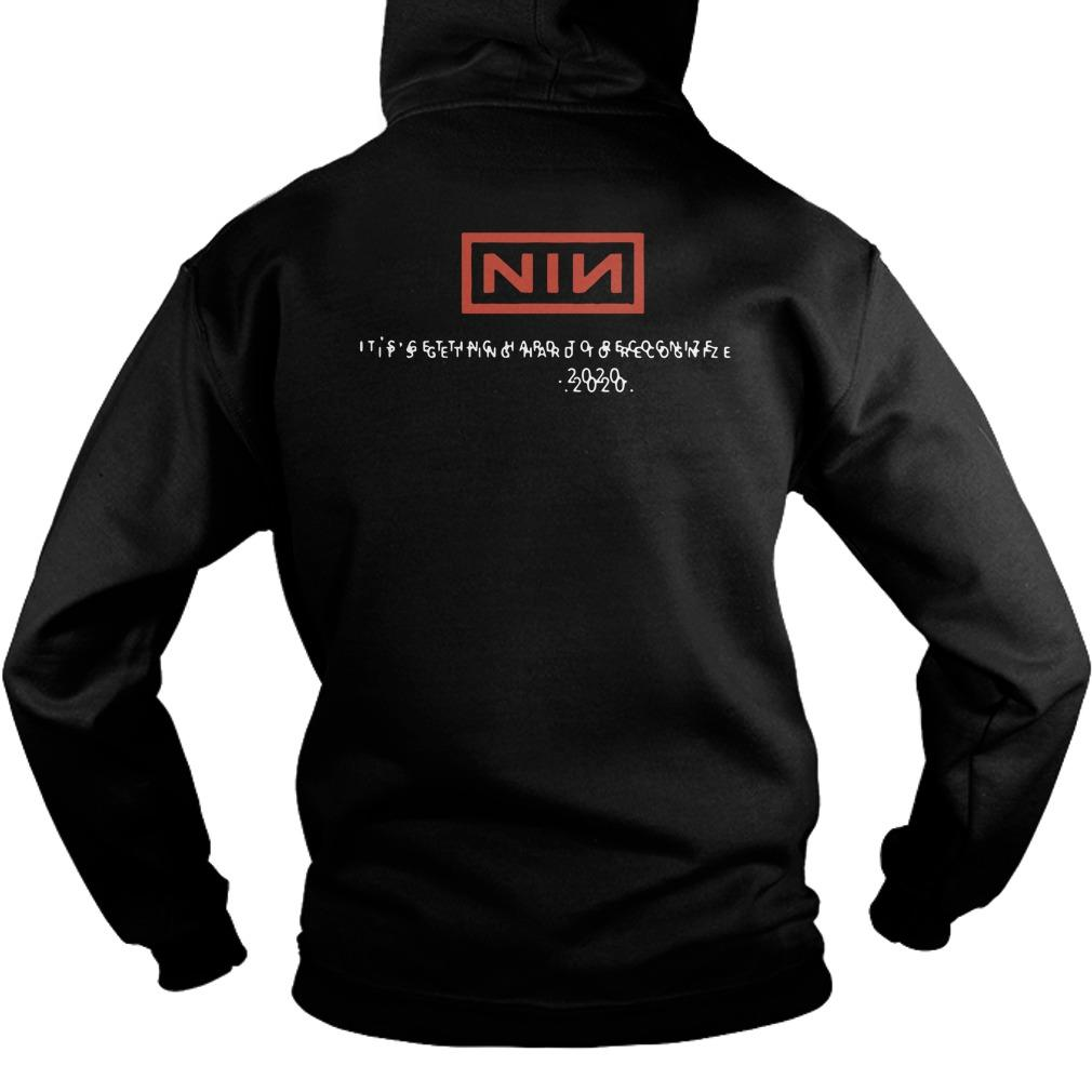 Nine Inch Nails New World New Times Mutation Feels Alright Hoodie