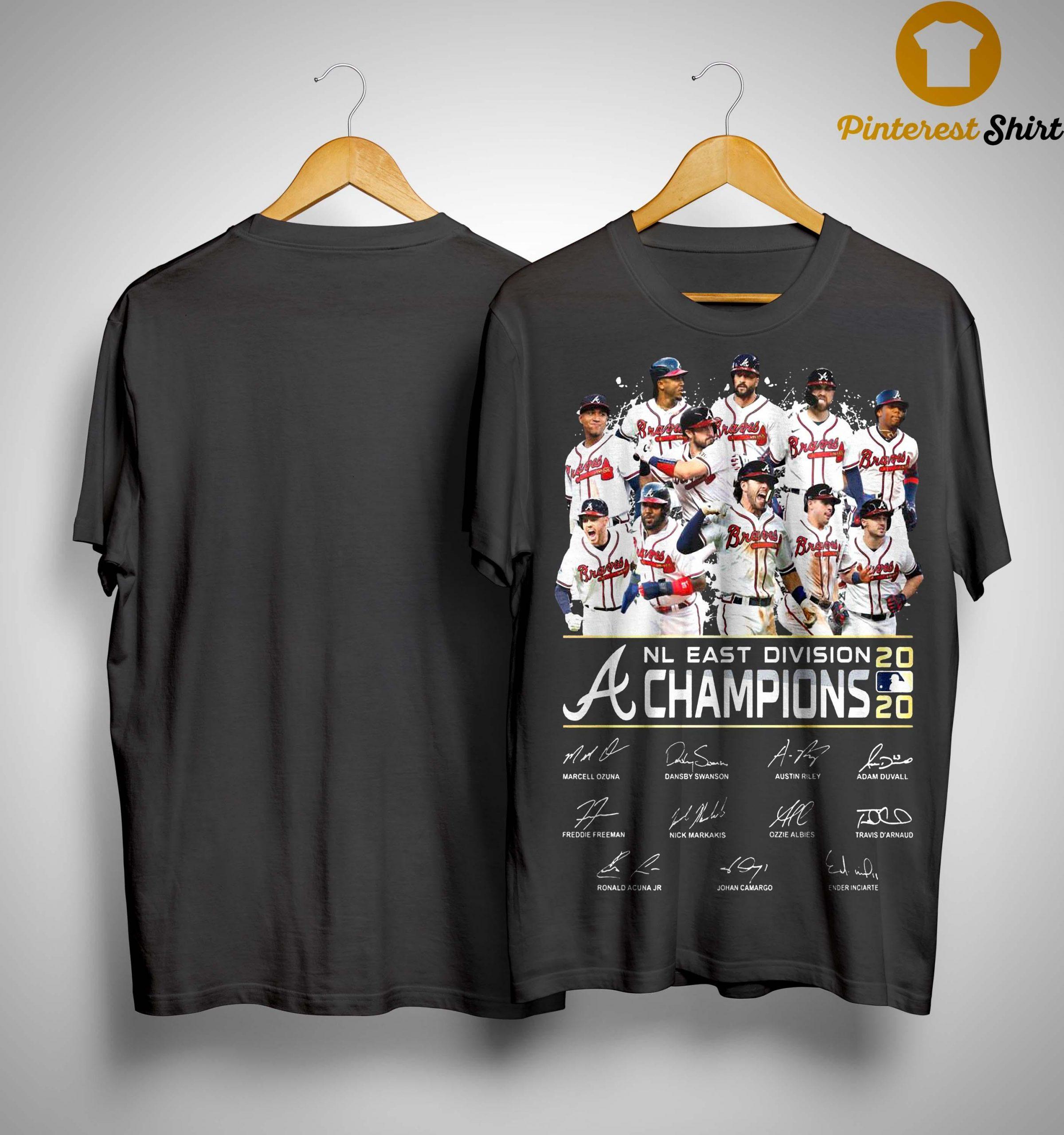 Nl East Division Champions 2020 Signatures Shirt
