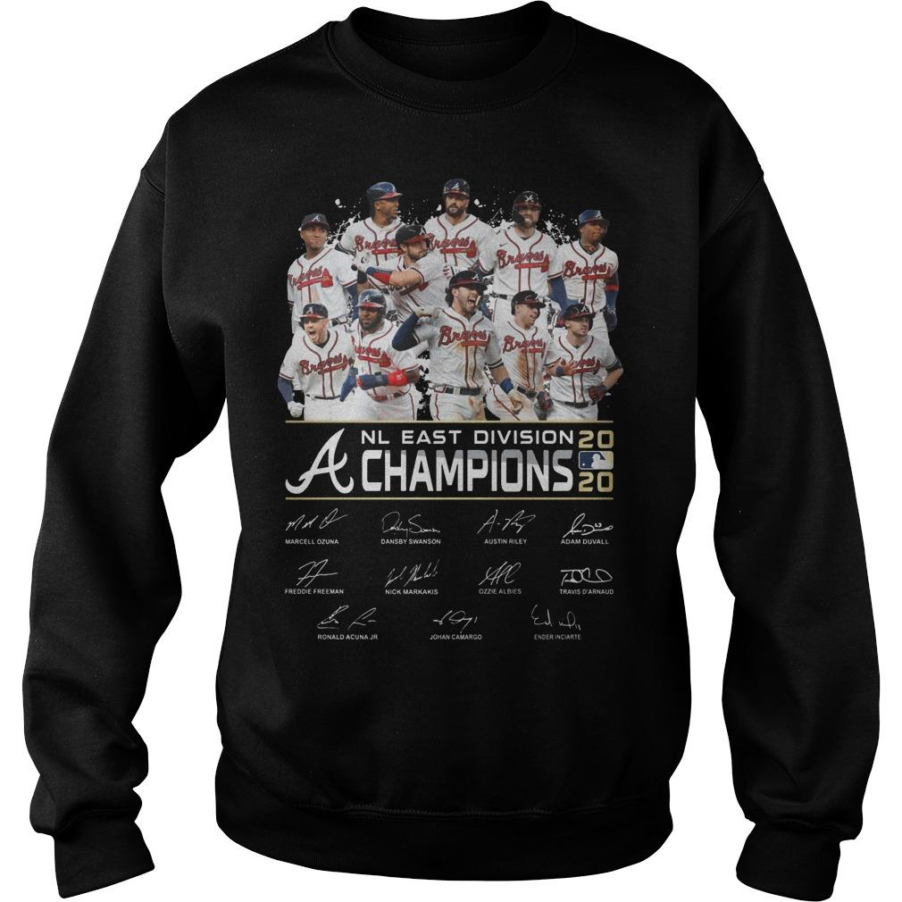 Nl East Division Champions 2020 Signatures Sweater