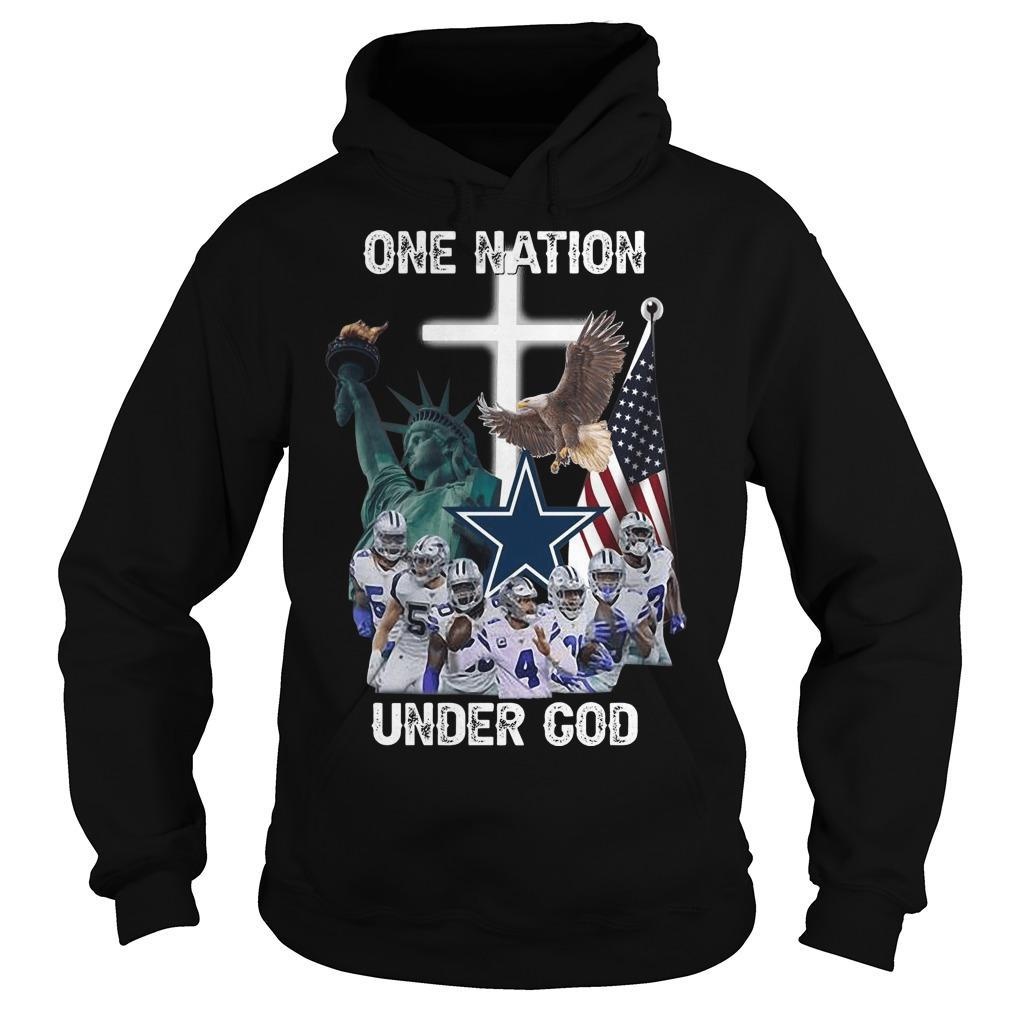 One Nation Under God Dallas Cowboys Hoodie