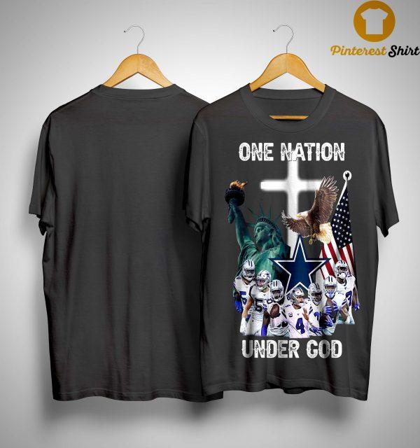 One Nation Under God Dallas Cowboys Shirt