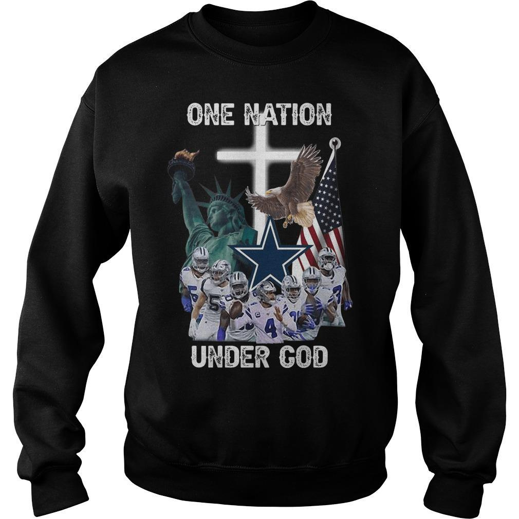 One Nation Under God Dallas Cowboys Sweater