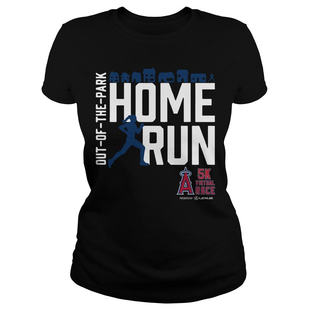 Out Of The Park Home Run 5k Virtual Race Longsleeve