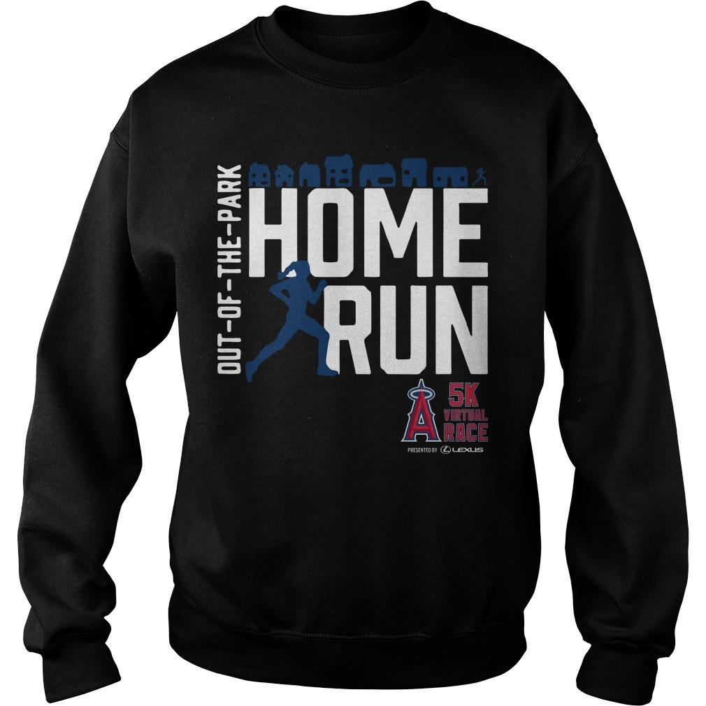 Out Of The Park Home Run 5k Virtual Race Sweater