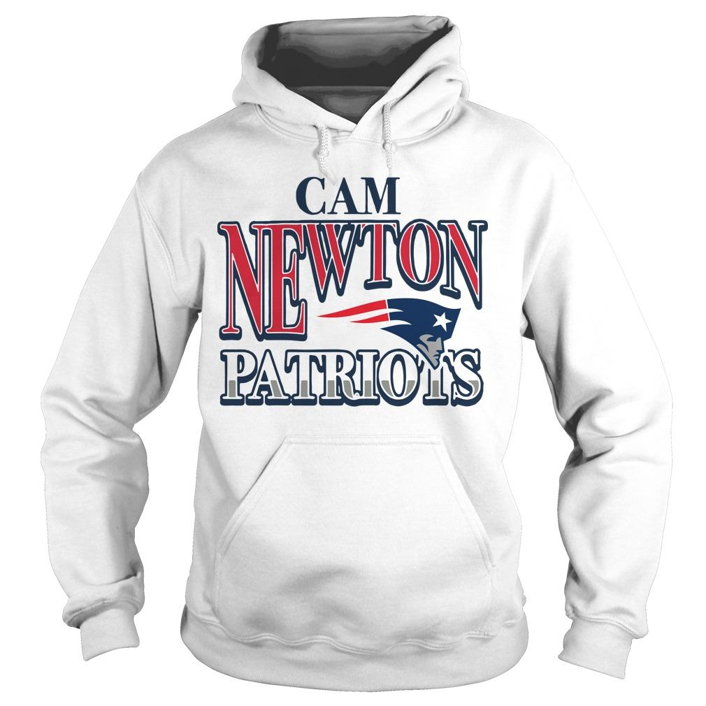 Patriots Cam Newton Hoodie