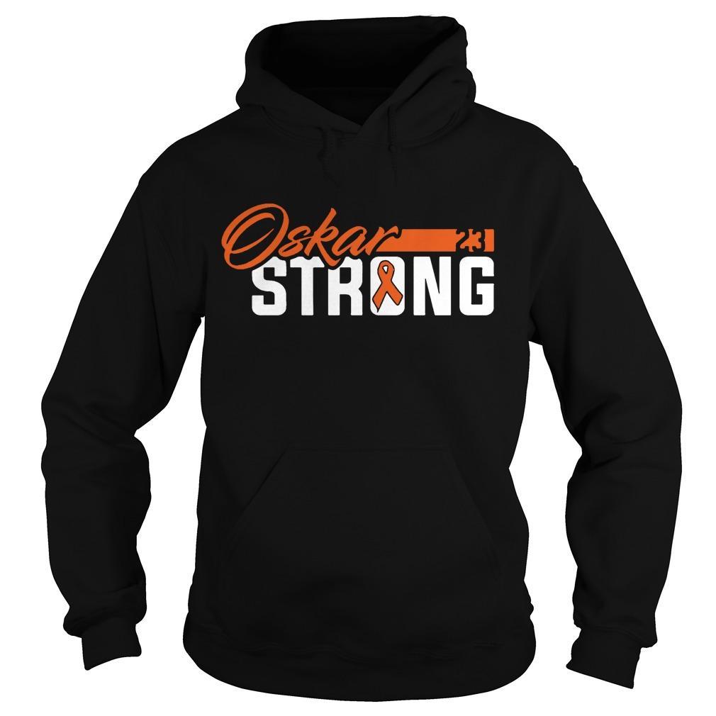 Philadelphia Flyers Oskar Strong Hoodie
