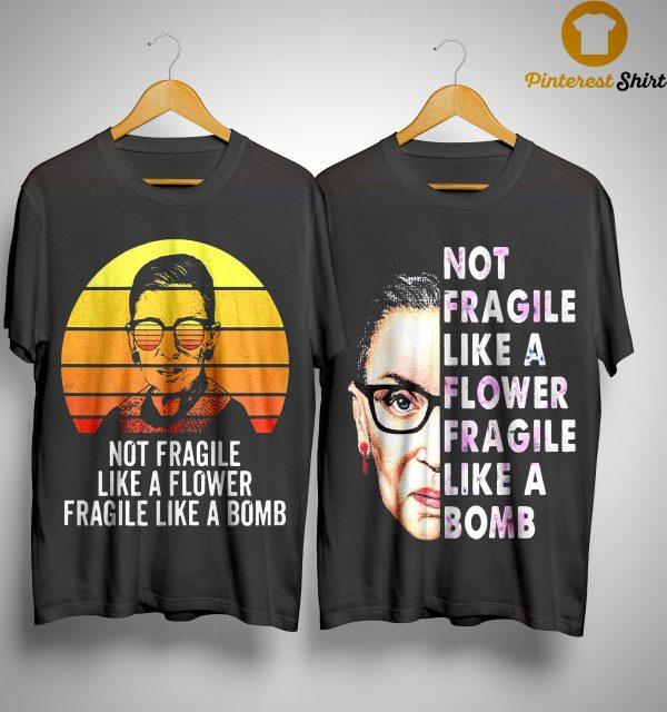 Rbg Fragile Like A Bomb Shirt