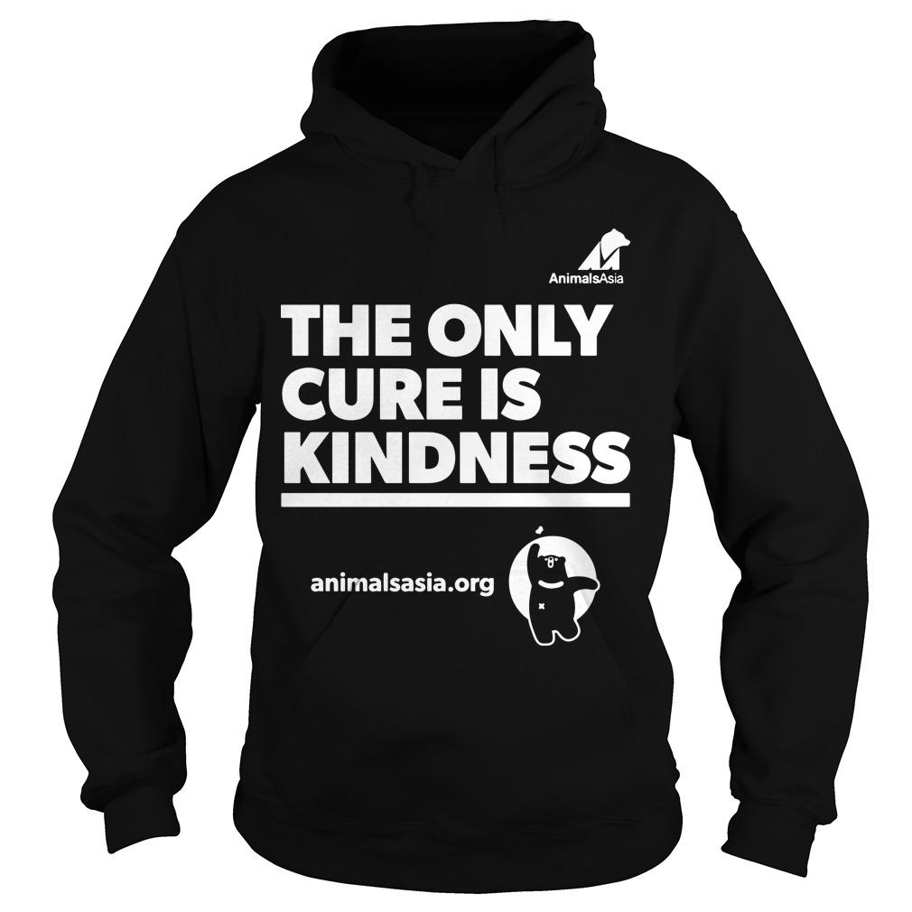 Ricky Gervais The Only Cure Is Kindness Hoodie