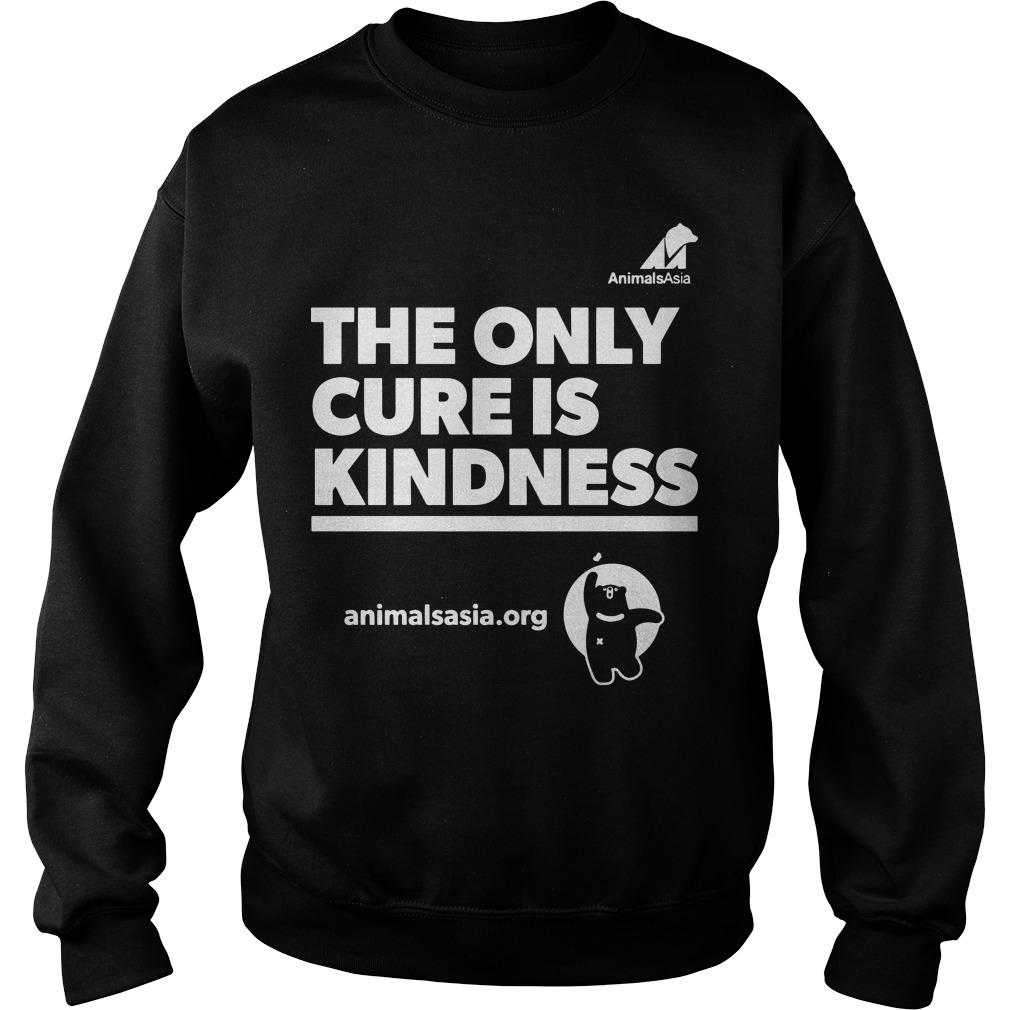 Ricky Gervais The Only Cure Is Kindness Sweater