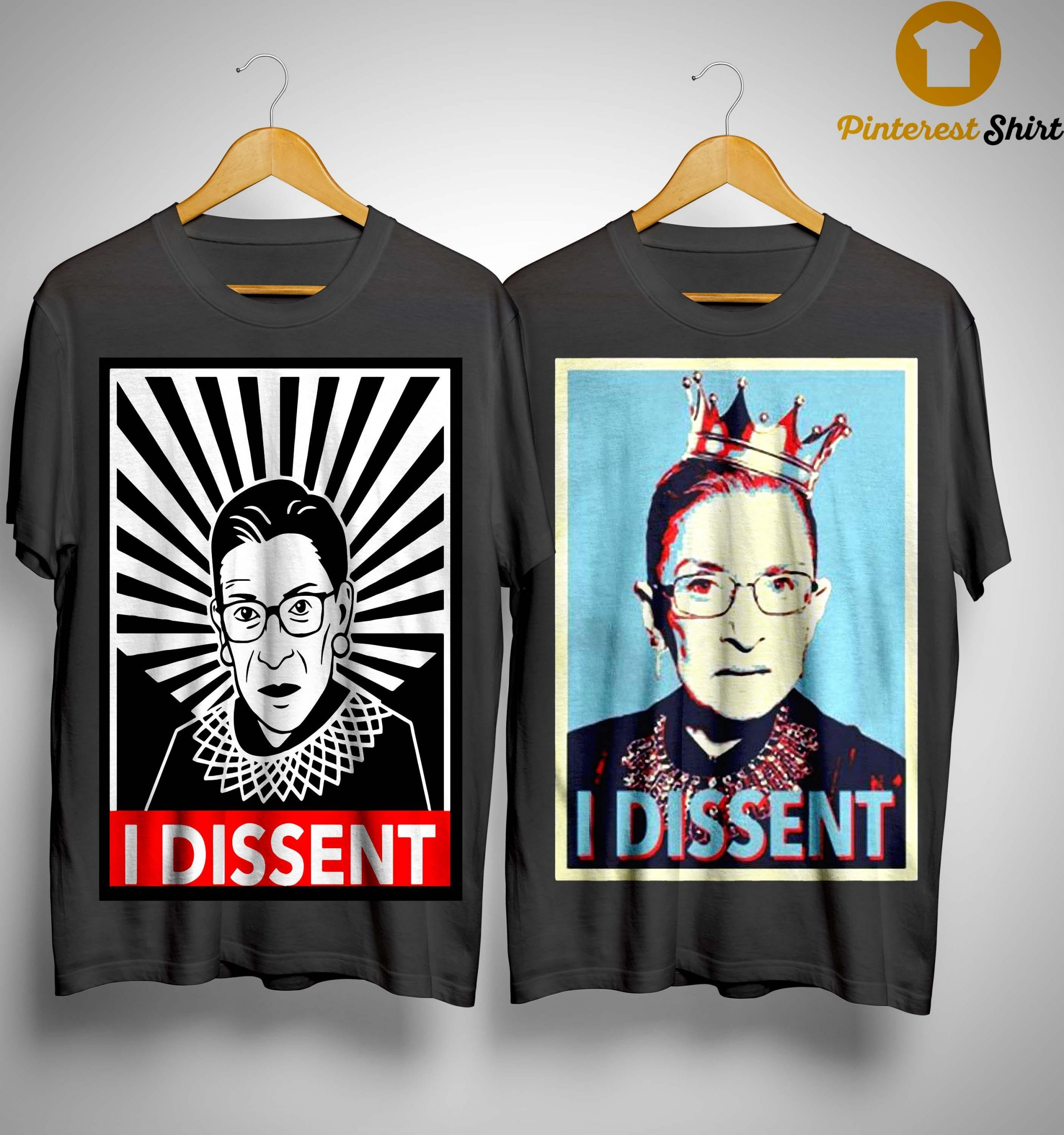 Ruth Bader Ginsburg Dissent Collar Shirt