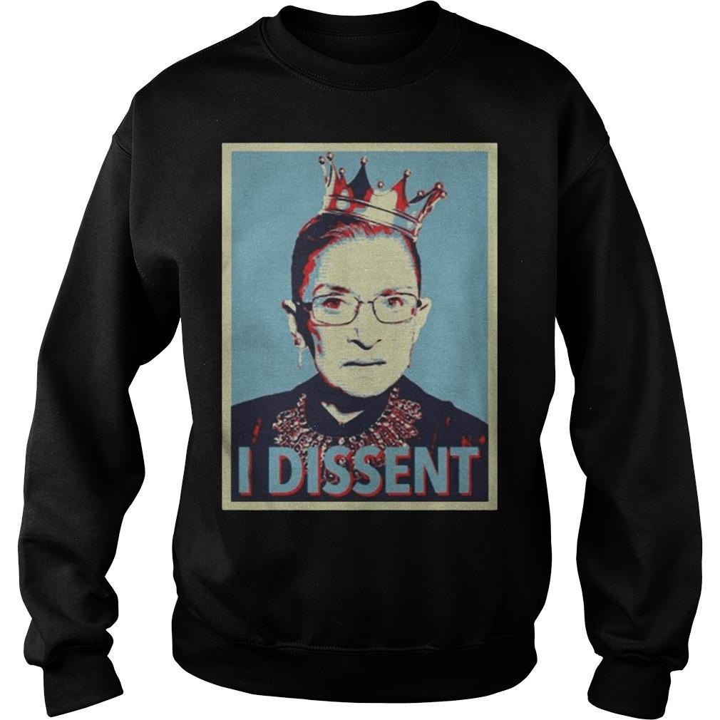 Ruth Bader Ginsburg Dissent Collar Sweater