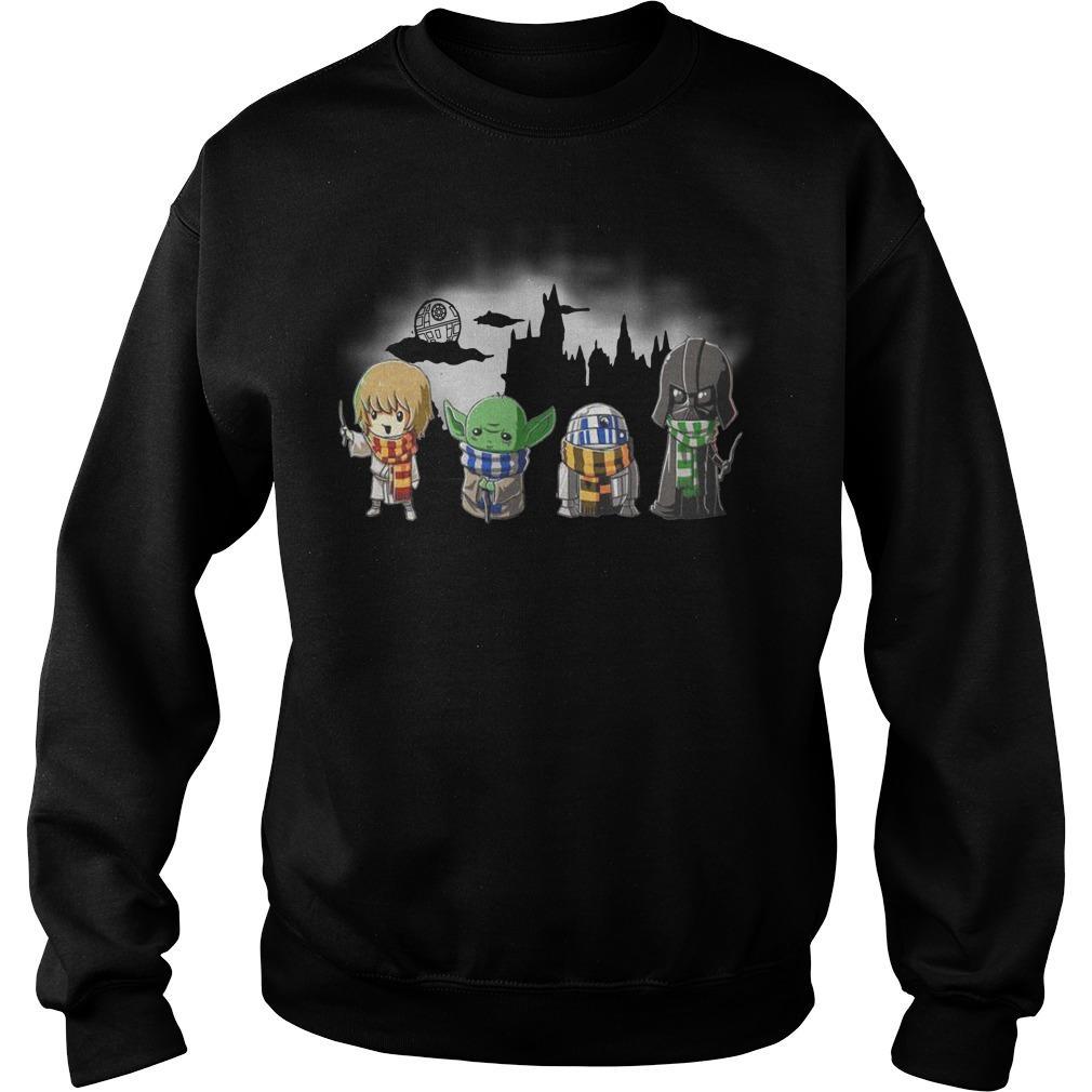 Star Wars Baby Yoda Darth Vader Sweater