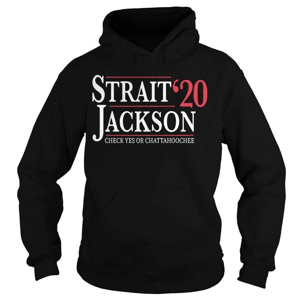 Strait Jackson '20 Check Yes Or Chattahoochee Hoodie