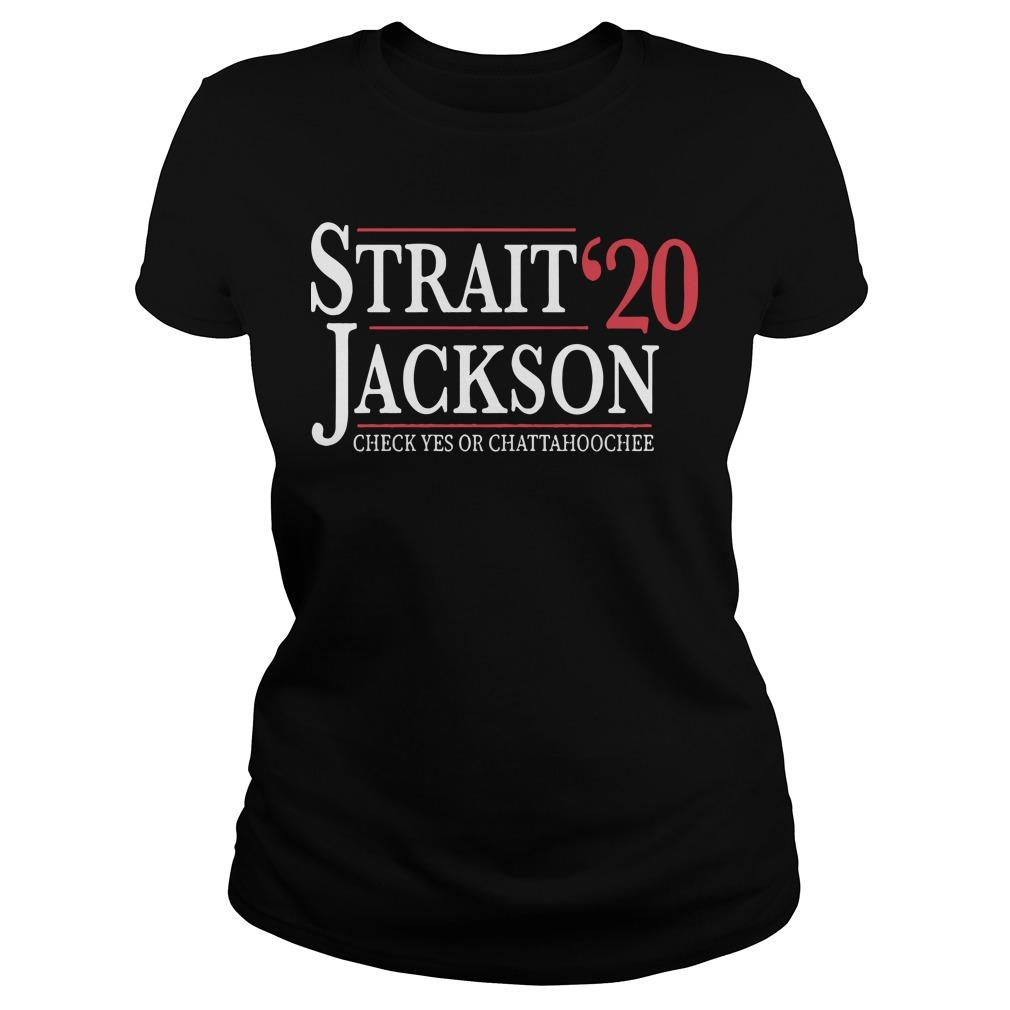 Strait Jackson '20 Check Yes Or Chattahoochee Longsleeve