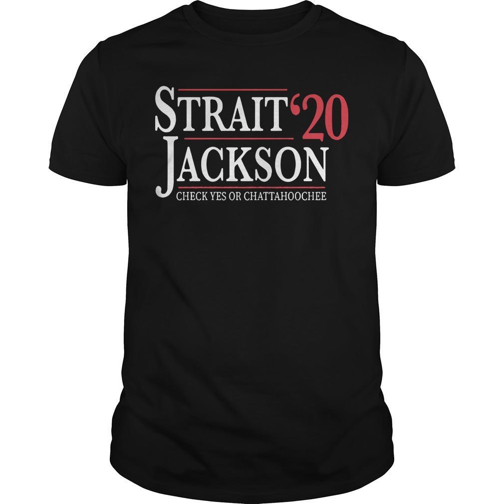 Strait Jackson '20 Check Yes Or Chattahoochee Shirt