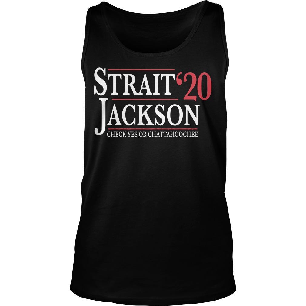 Strait Jackson '20 Check Yes Or Chattahoochee Tank Top